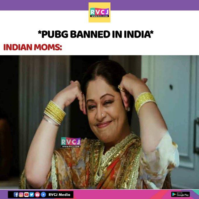 MEMES del Ban de PUBG Mobile en la India y otras aplicaciones