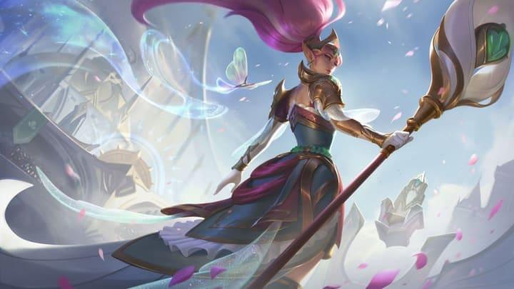 Battle Queen Janna está aquí y ha sido anunciada por Riot Games en su Twitter.