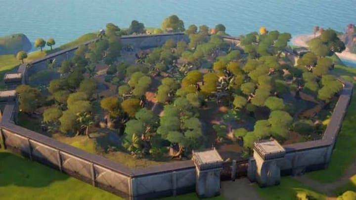 Una vista de pájaro de Stealthy Stronghold