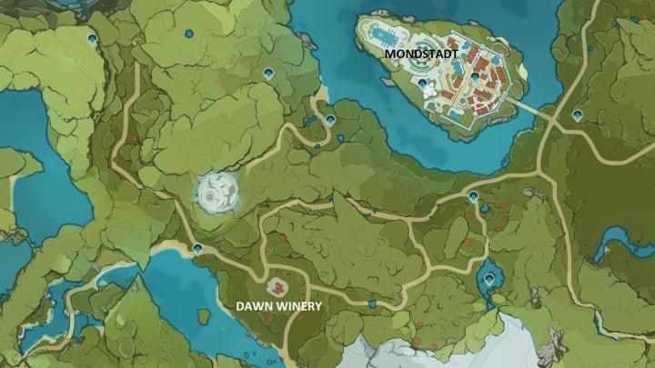 Los rábanos se pueden encontrar al sur de la bodega Dawn