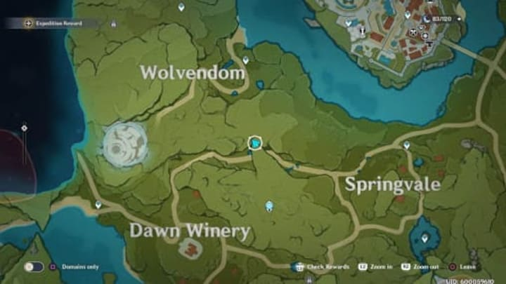 Springvale es una de las primeras ubicaciones a las que irás