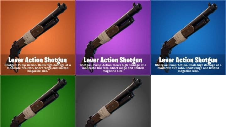 La escopeta de acción de palanca llega a Fortnite en la actualización v15.20.