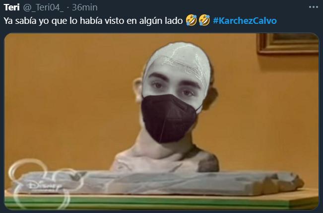 Memes de Karchez calvo