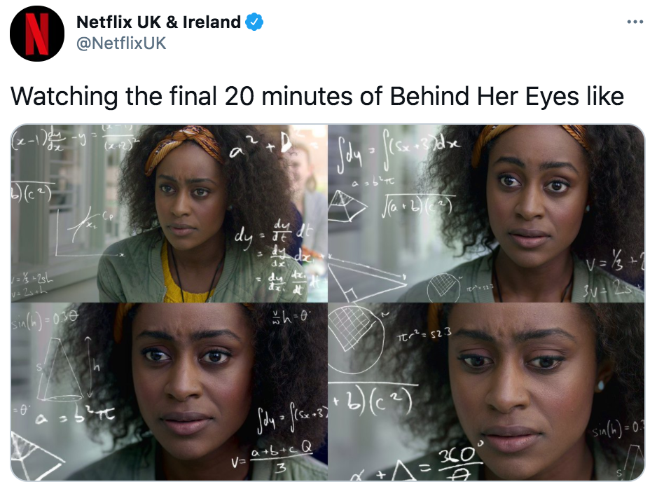 Detrás de sus ojos, Netflix, memes, meme, reacción, Twitter, críticas, final, Louise