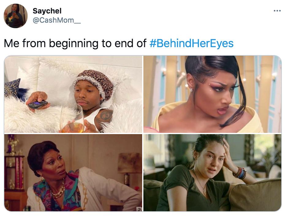 Behind Her Eyes, Netflix, memes, meme, reacción, Twitter, críticas, final