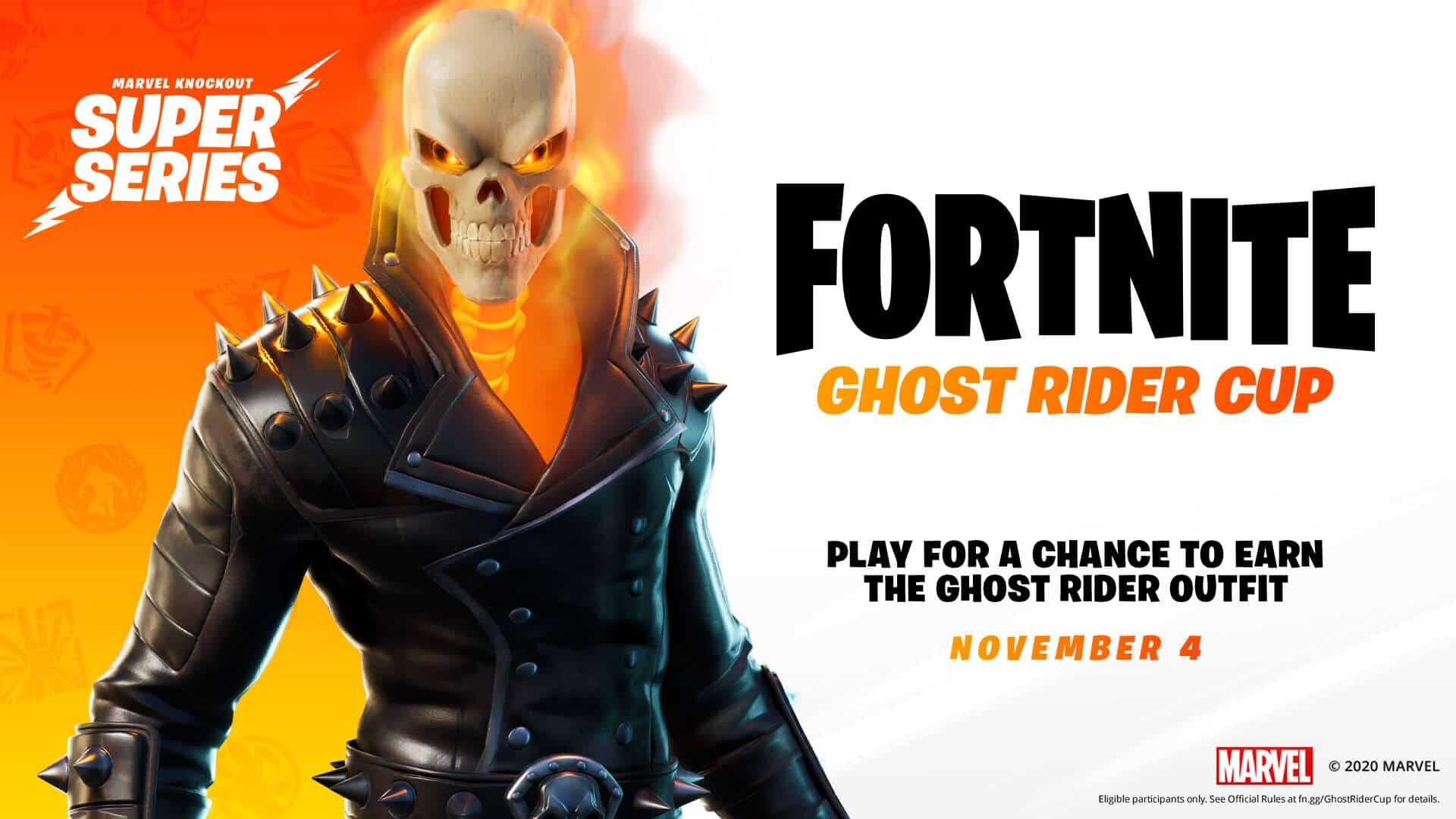 Copa Fortnite de Ghost Rider