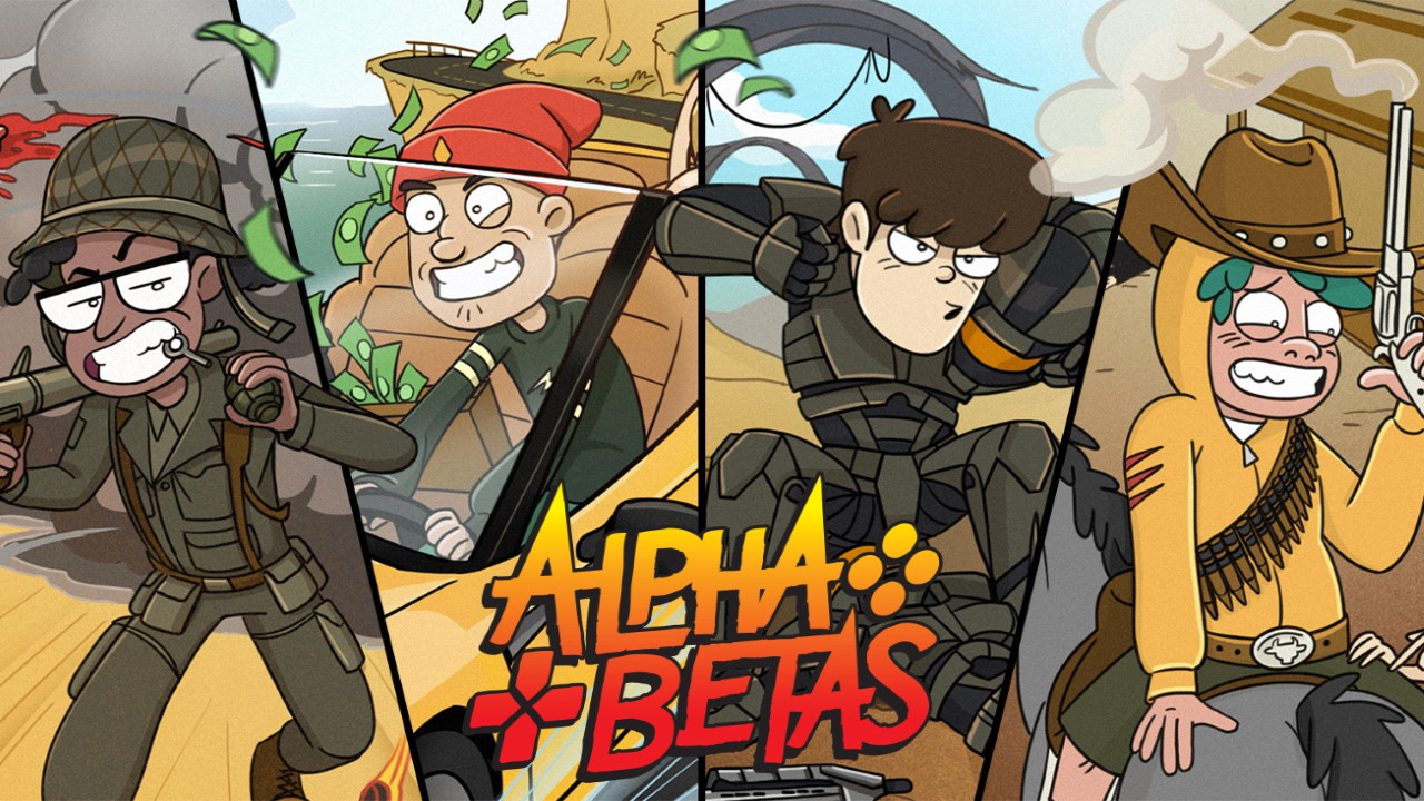 Alpha-Betas-Video-Games-Power-the-World-in-an-Animed-Show-Starring-YouTubers
