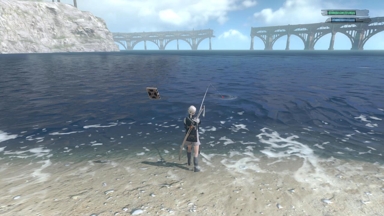 Sin pesca replicante