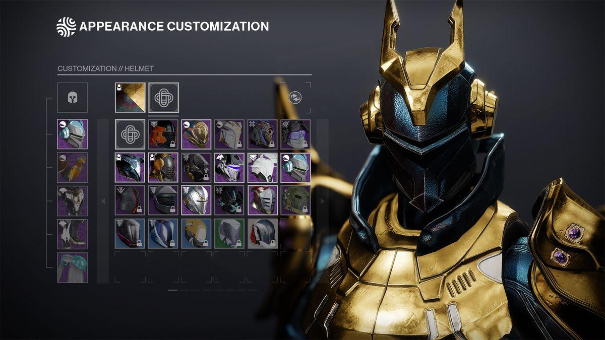Sistema de transfiguración de Destiny 2