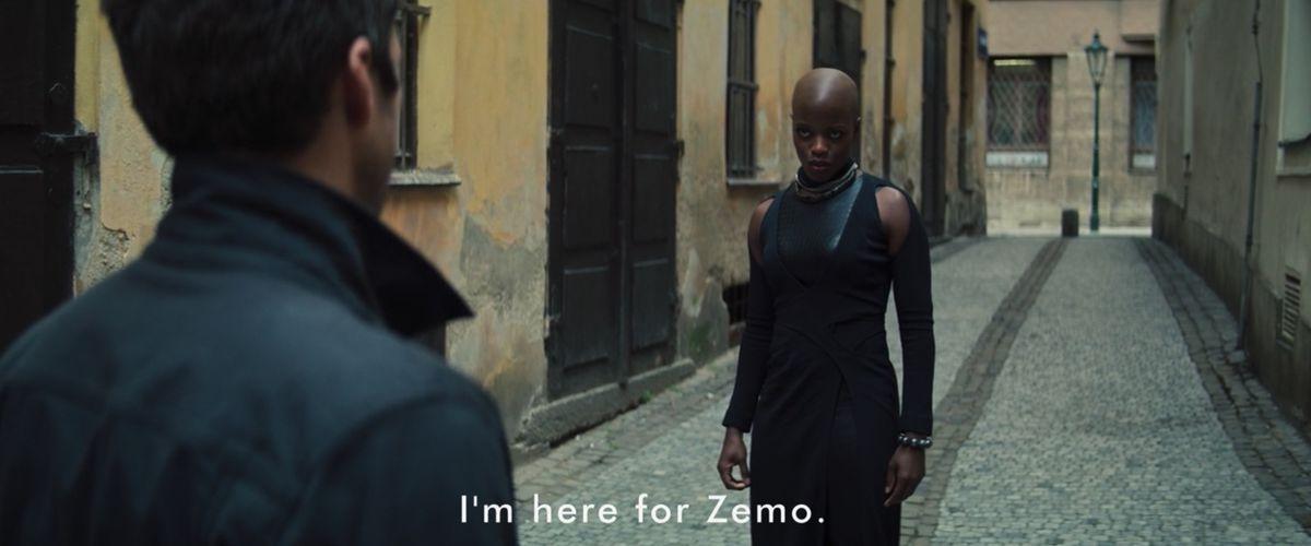 Ayo en el episodio 3 de Falcon and the Winter Soldier diciendo