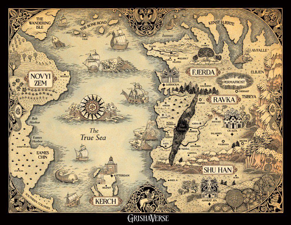 Un mapa del universo Shadow and Bone