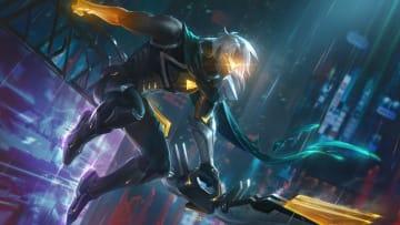 PROYECTO Varus es uno de los seis nuevos aspectos de PROYECTO que vienen en el parche 11.11 de League of Legends.
