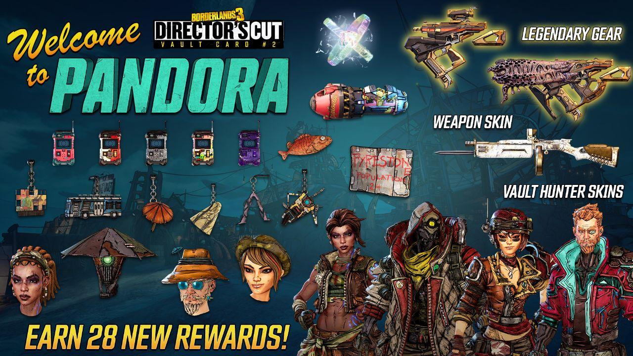 Recompensas de Borderlands 3 Vault Map 2