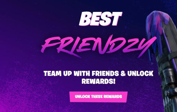 El mejor sitio de registro de Friendzy Fortnite
