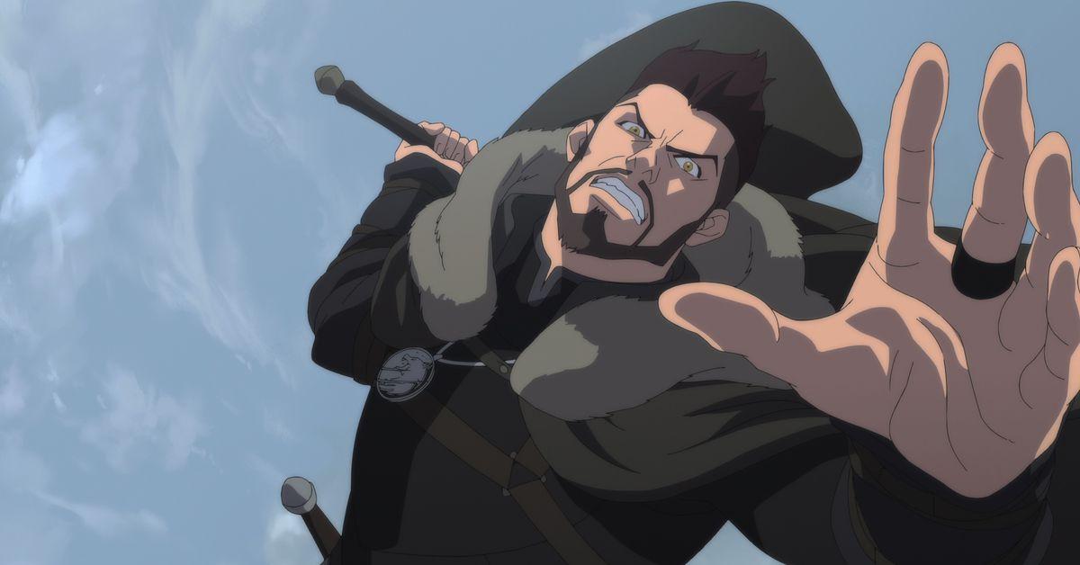 Vesemir witcher animated