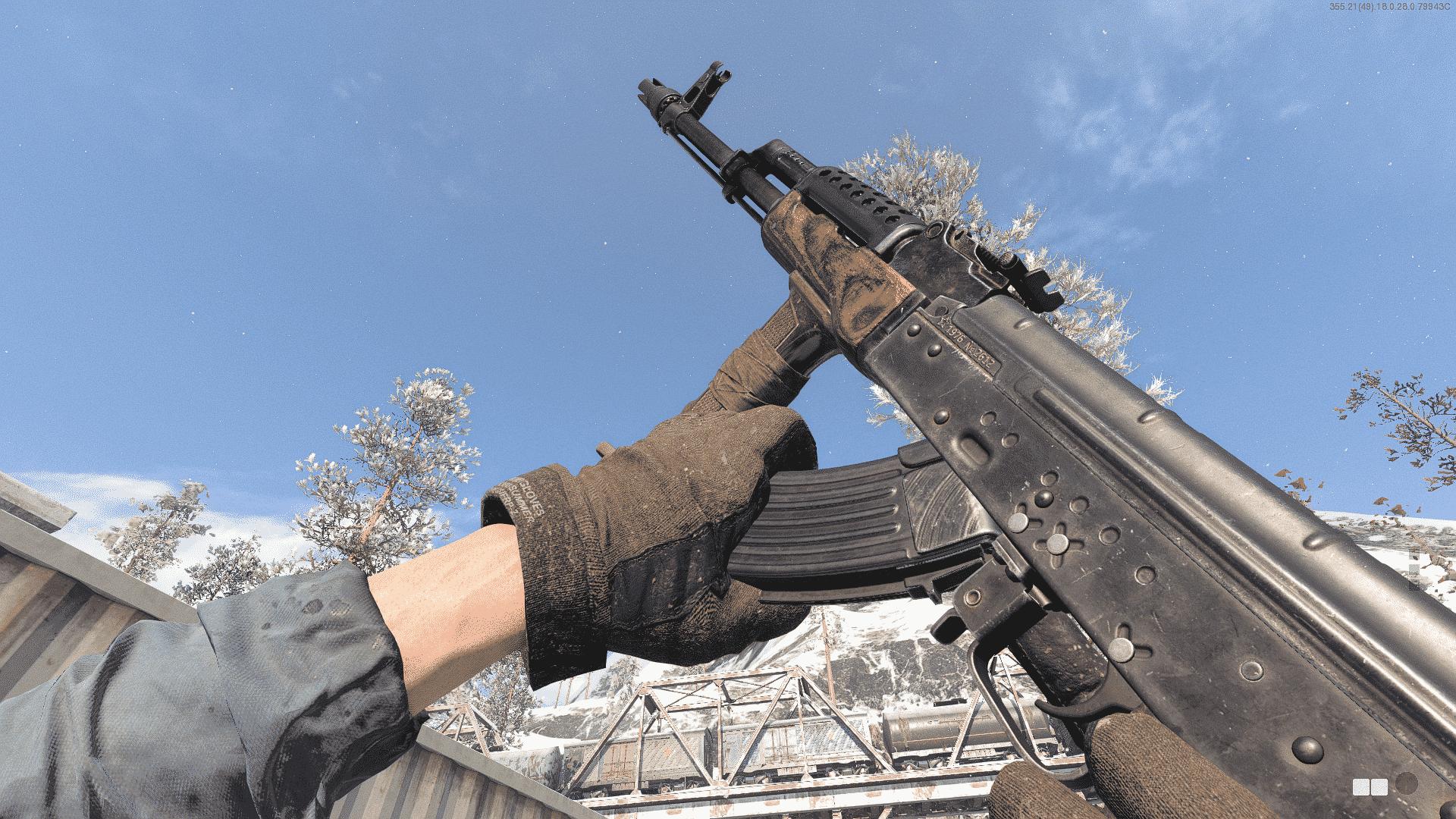 Equipo AK-47 de la Guerra Fría de Black Ops