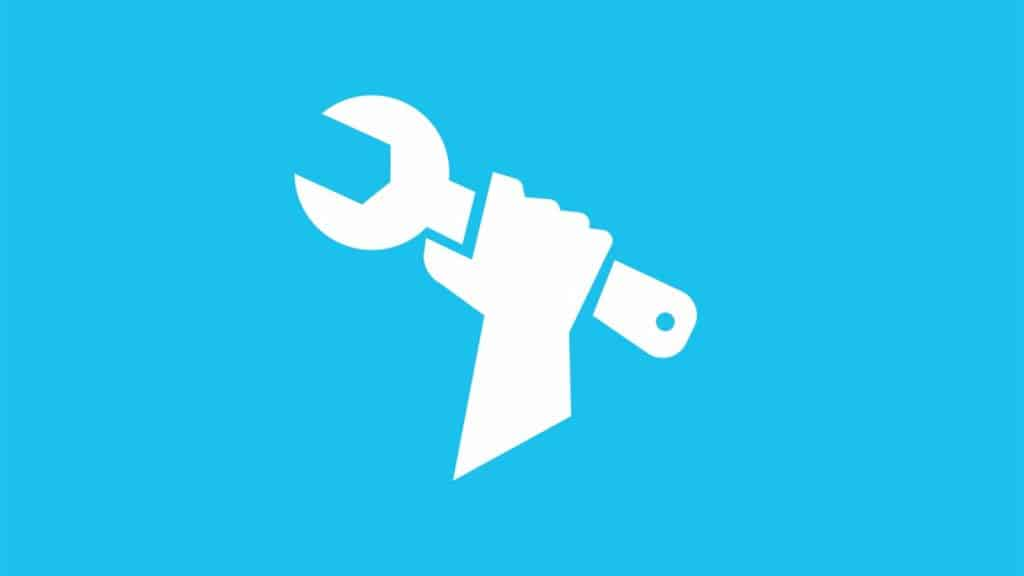 Logotipo de mantenimiento de Fortnite