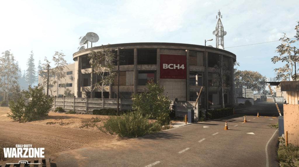 ubicación de la estación de televisión en la zona de guerra del bacalao
